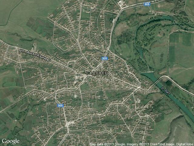 Karta Na Selo Sadovec Pleven Pres