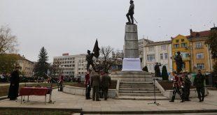 Паметникът на генерал Владимир Вазов е официално открит