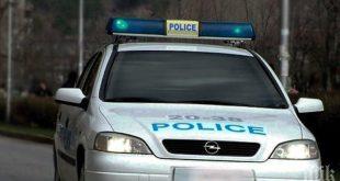 Полицейско преследване завършва с катастрофа за побягналия водач