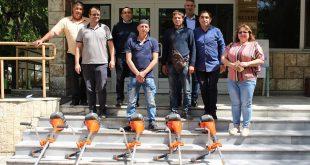 Община Белене закупи резачки, храсторези, снегорини и дрон за нуждите на селските кметове