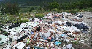 За боклуците в Червен бряг