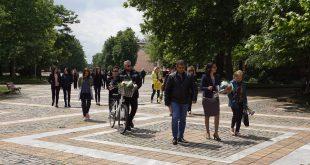 Денят на Ботев бе почетен подобаващо и в град Левски