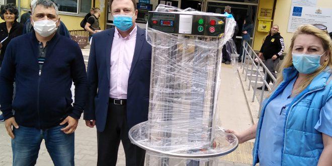 """УМБАЛ """"Д-р Г. Странски"""" получи дарениe по Кампанията """"България за лекарите"""""""