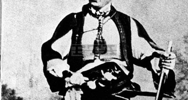 На 10-ти август загива в бой с турците, 28-годишният войвода Хаджи Димитър