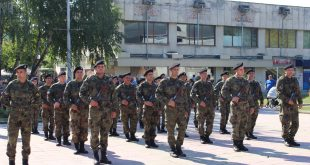 Новоназначени военнослужещи положиха клетва пред бойното знаме в Белене