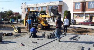 Ремонт на площадите в четири населени места извършва Община Гулянци
