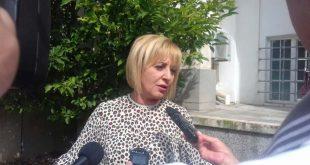 Мая Манолова ще се срещне в неделя с граждани на Плевен