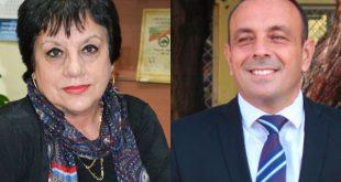 Д-р Бистра Павловска, Председател на Общински съвет Белене и Милен Дулев, кмет на Община Белене