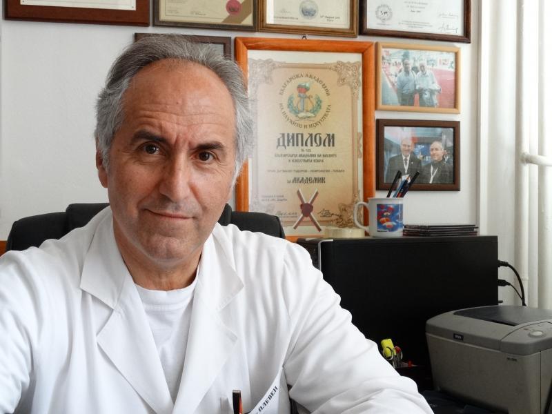 Проф. Васил Тодоров, д.м.н, Началник Клиника по нефрология и диализа