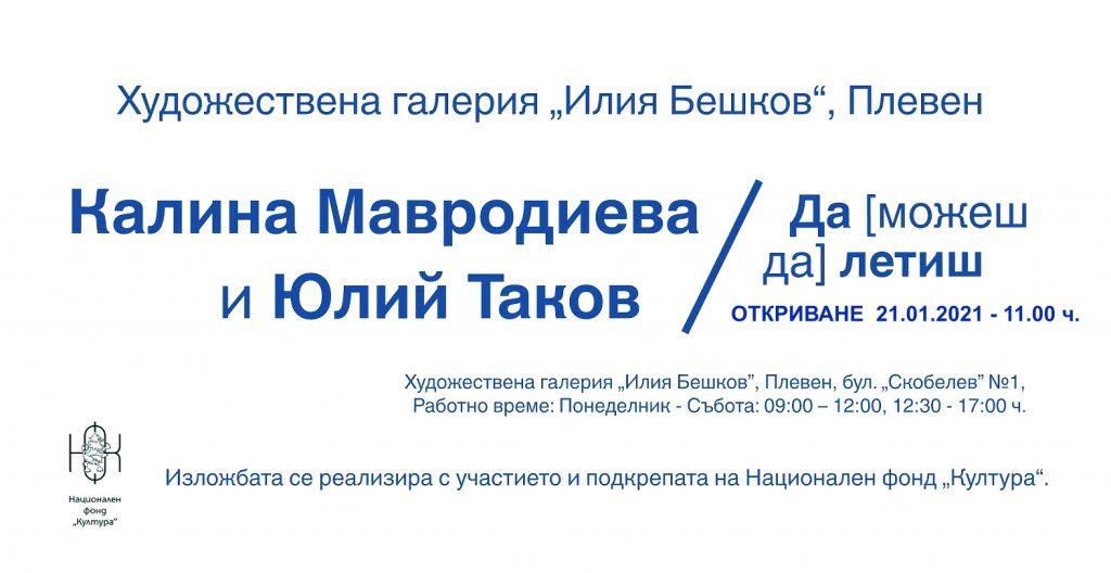 """ХГ """"Илия Бешков"""" – Плевен, кани на изложба 1"""