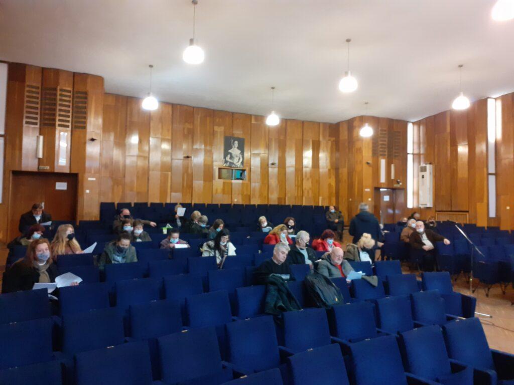 Комисията за разпределение на читалищната субсидия проведе заседание 1