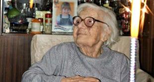 Учителката Богданка Иванова от Плевен, навърши днес 100 години