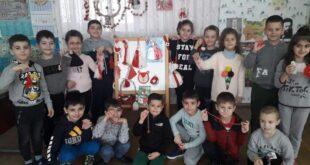 Мартенска работилница за разширяване познанията на децата за обичая и традициите на празнуване на Баба Марта.