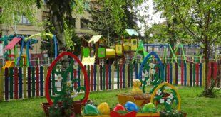 Активно пролетно почистване и красива празнична украса за Великден в град Левски