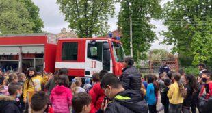 """СУ""""Крум Попов"""" град Левски проведе занятие за защита при земетресение"""