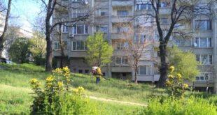 Завърши първата обработка на площи срещу кърлежи и комари в Плевен