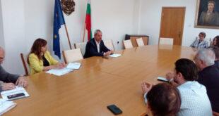 Координационна среща при областният управител във връзка с изборите за Народно събрание насрочени за 11 юли 2021г.