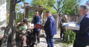 За 100 годишния дядо Иван от с.Гиген тайната на дълголетието е в труда и каничката домашно червено вино