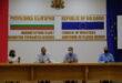 Заседание на Областен кризисен щаб – Плевен, във връзка с Националния оперативен план за справяне с пандемията