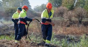 В Долна Митрополия обучаваха доброволци за гасене на пожари