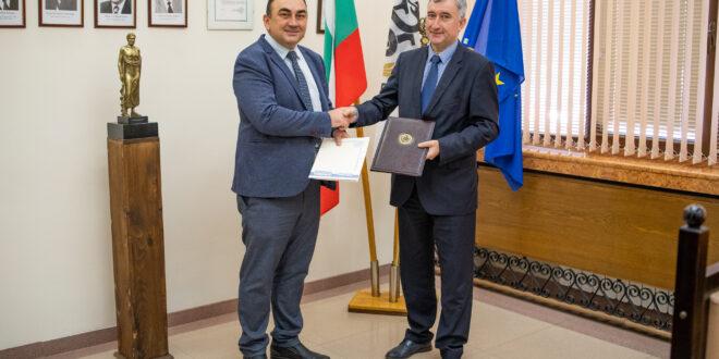 Меморандум за сътрудничество подписаха ректорите на Медицински университет – Плевен и Технически университет - Габрово