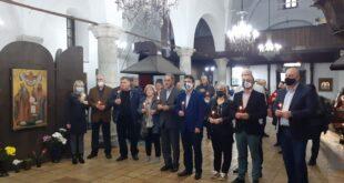 """Коалиция """"Демократична България – Обединение"""" откри предизборната си кампания в Плевен с водосвет"""
